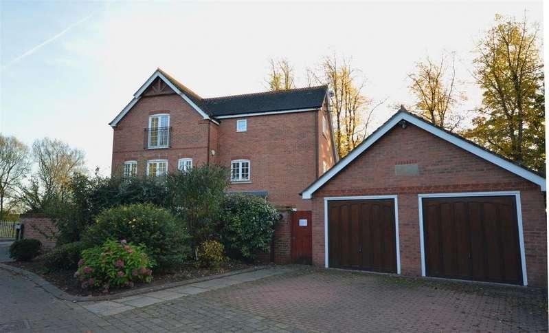 4 Bedrooms Semi Detached House for sale in Cornmill House, School Lane, Warmingham