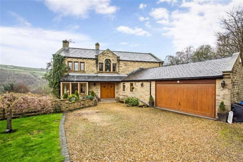 5 Bedrooms Detached House for sale in Kebroyd Lane, Ripponden