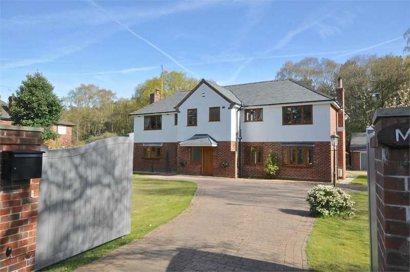 4 Bedrooms Detached House for sale in Dalefords Lane, Whitegate, Northwich, Cheshire
