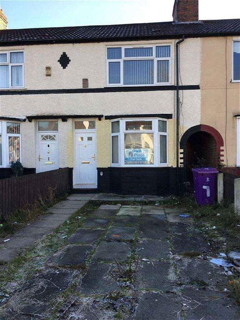 3 Bedrooms Terraced House for sale in Max Road, Liverpool, Merseyside