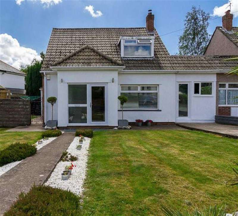 3 Bedrooms Semi Detached House for sale in St Margarets Close, Whitchurch, Cardiff
