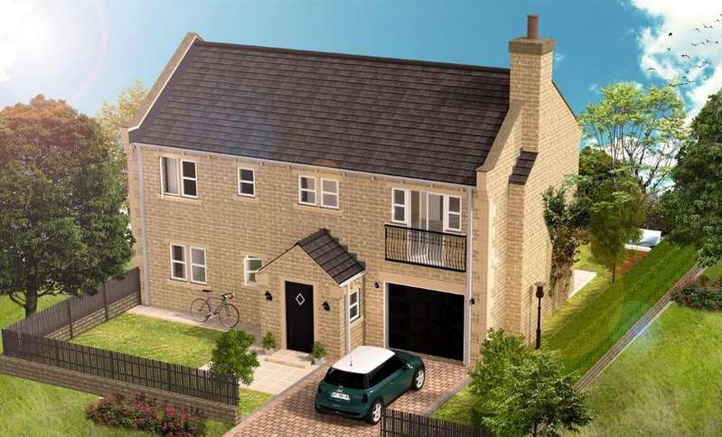 5 Bedrooms Detached House for sale in New Home at Blenheim Chase, Scissett, Huddersfield