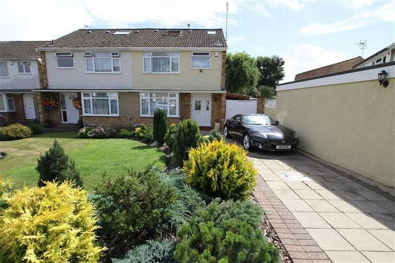 4 Bedrooms Semi Detached House for sale in Causeway Close, Potters Bar, Herts, EN6