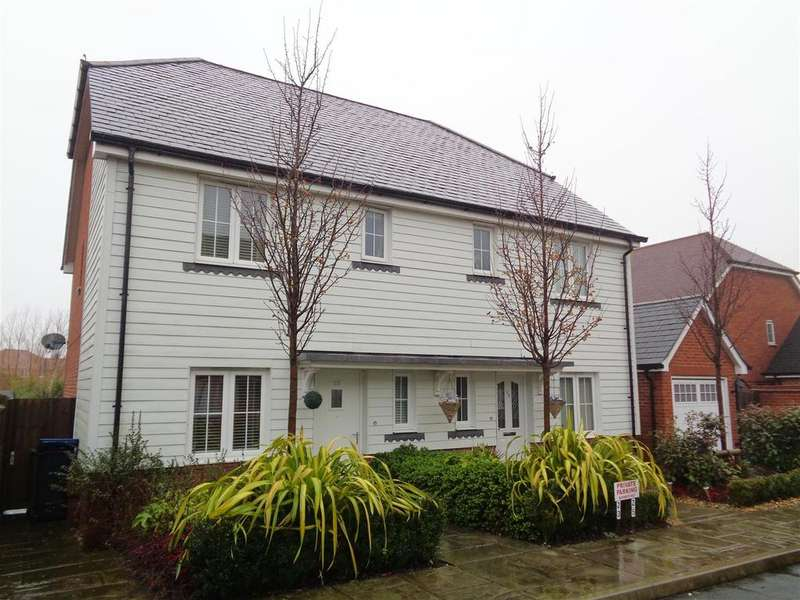 3 Bedrooms Semi Detached House for sale in Ruskin Avenue, North Bersted