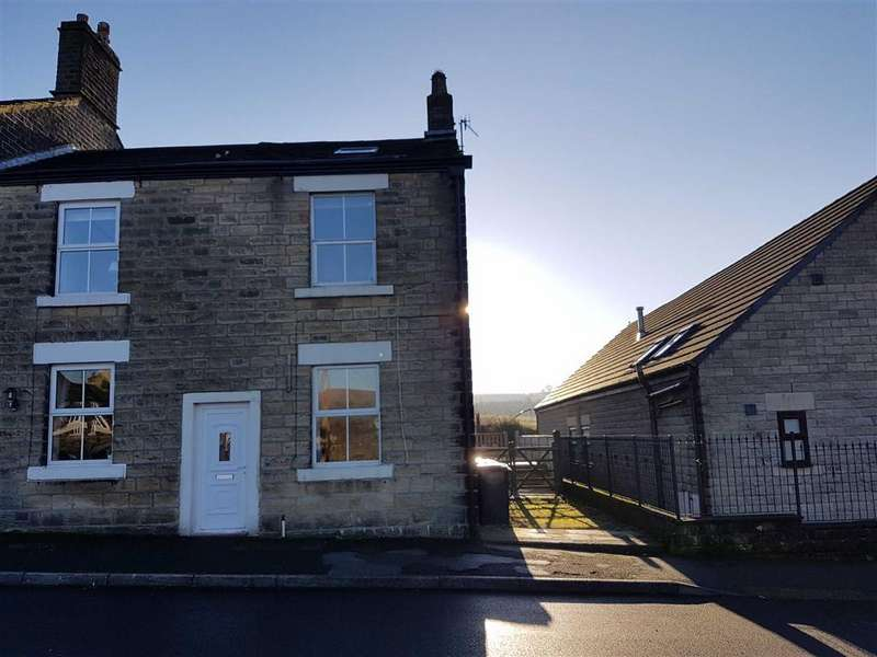 2 Bedrooms End Of Terrace House for sale in Brosscroft, Hadfield, Glossop, Derbyshire, SK13