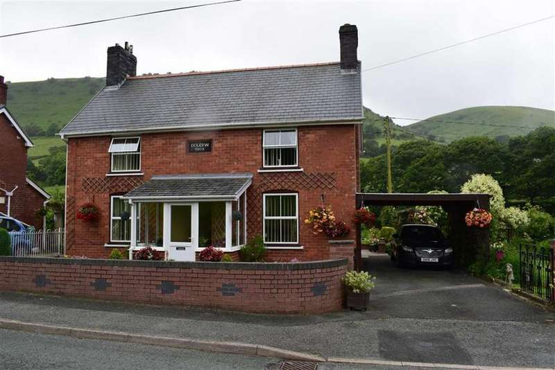 3 Bedrooms Detached House for sale in Dolerw, Dolfach, Llanbrynmair, Powys, SY19