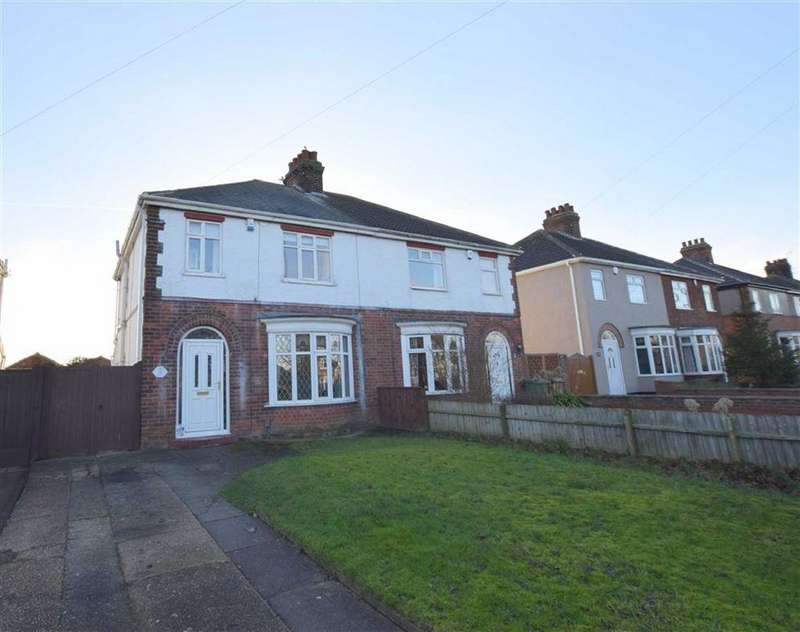 3 Bedrooms Semi Detached House for sale in Laceby Road, Grimsby, North East Lincolnshire