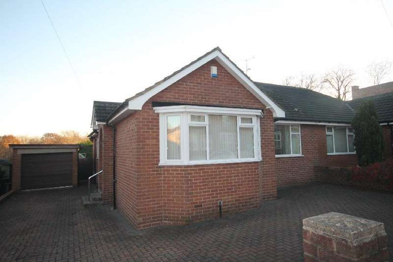 2 Bedrooms Semi Detached Bungalow for sale in Salisbury Place, Bishop Auckland