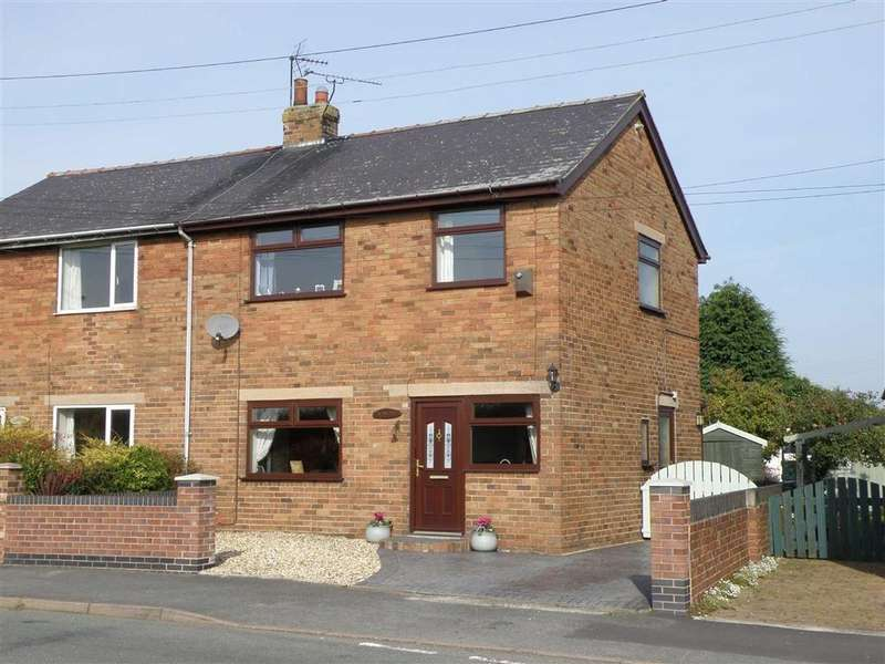 3 Bedrooms Semi Detached House for sale in Windward Cottages, Rossett, Wrexham