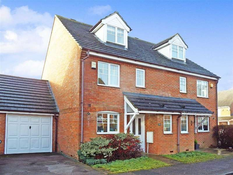 3 Bedrooms Semi Detached House for sale in Swale Close, Stevenage, Hertfordshire, SG1