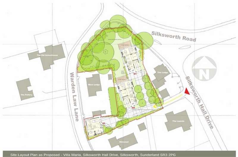 Land Commercial for sale in Silksworth Hall Drive, Silksworth, Sunderland, SR3