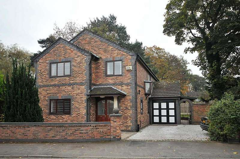 4 Bedrooms Detached House for sale in Chester Road, Hartford