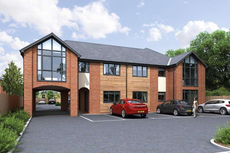 2 Bedrooms Apartment Flat for sale in Plot 7, Five Oaks, Mobberley Road, Knutsford