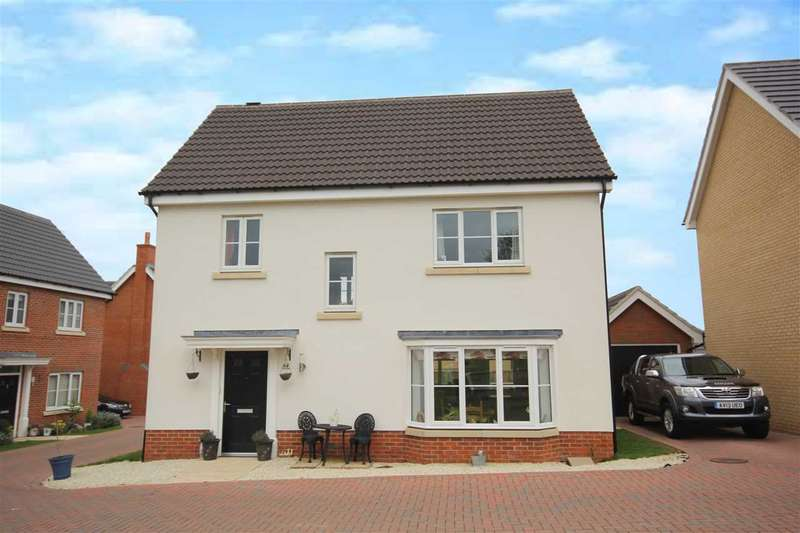 4 Bedrooms Detached House for sale in Brooklands House, Overing Avenue, Great Waldingield