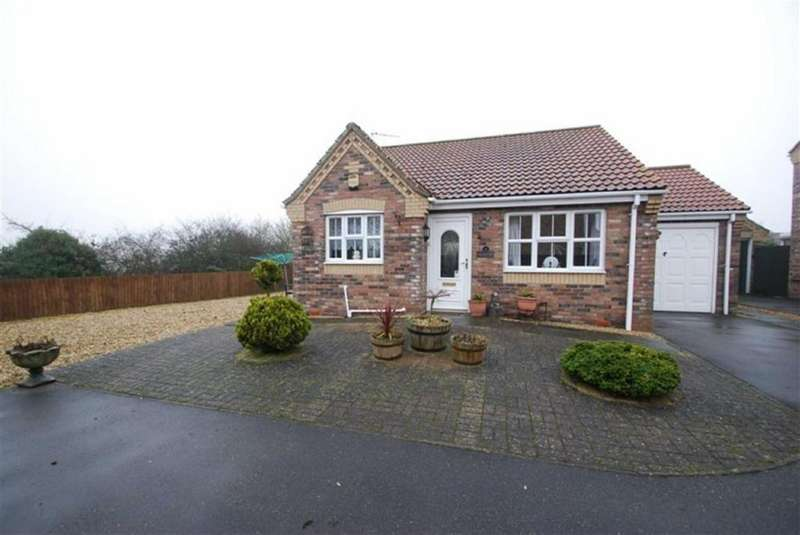 2 Bedrooms Detached Bungalow for sale in Sawmill Lane, Wragby