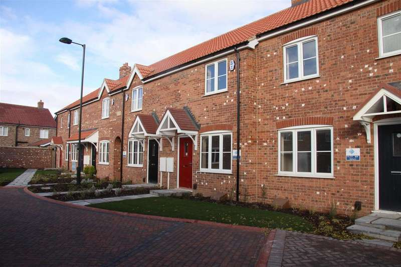2 Bedrooms Terraced House for sale in The Jade (Plot 13), Wallaces Yard, Alford