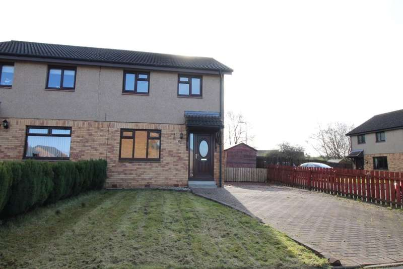 3 Bedrooms Semi Detached House for sale in Bankton Park East, Livingston, EH54