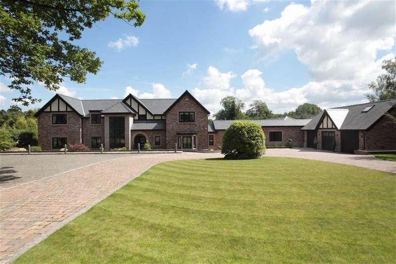 5 Bedrooms Detached House for sale in Castle Hill, Mottram St Andrew