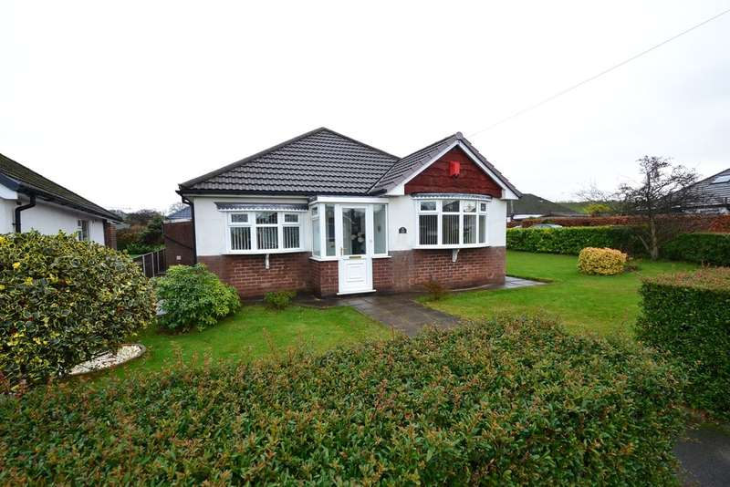 3 Bedrooms Detached Bungalow for sale in Meadway, High Lane, Stockport SK6 8EG