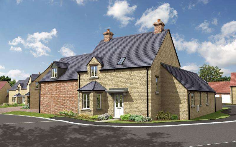 3 Bedrooms Detached House for sale in The Maple, Charity Farm, Woodstock Road, Stonesfield, Witney, Oxfordshire