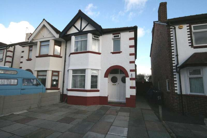 4 Bedrooms Semi Detached House for sale in Cleveleys Avenue, Southport, PR9 9SS