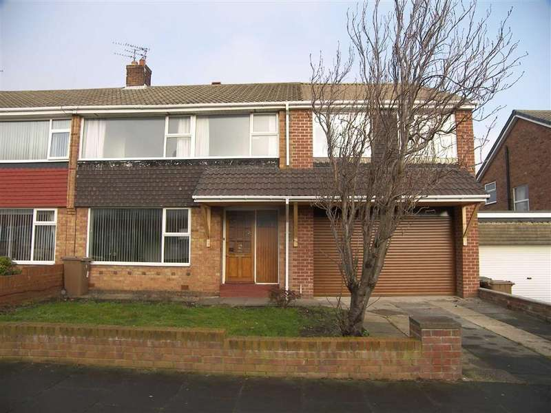 4 Bedrooms Semi Detached House for sale in Farringdon Road, Marden Estate, Tyne Wear, NE30