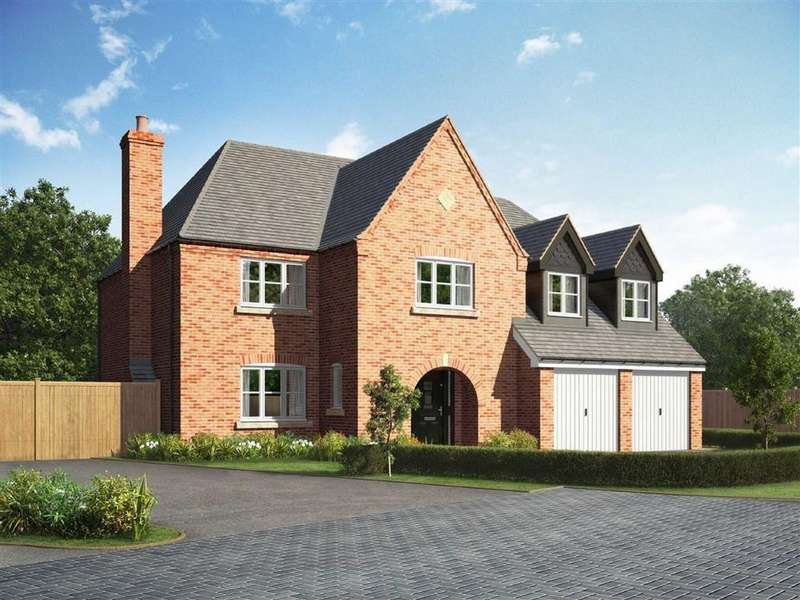 5 Bedrooms Detached House for sale in Plot 12 ' The Eaton' The Croft, Littlethorpe, Leicestershire