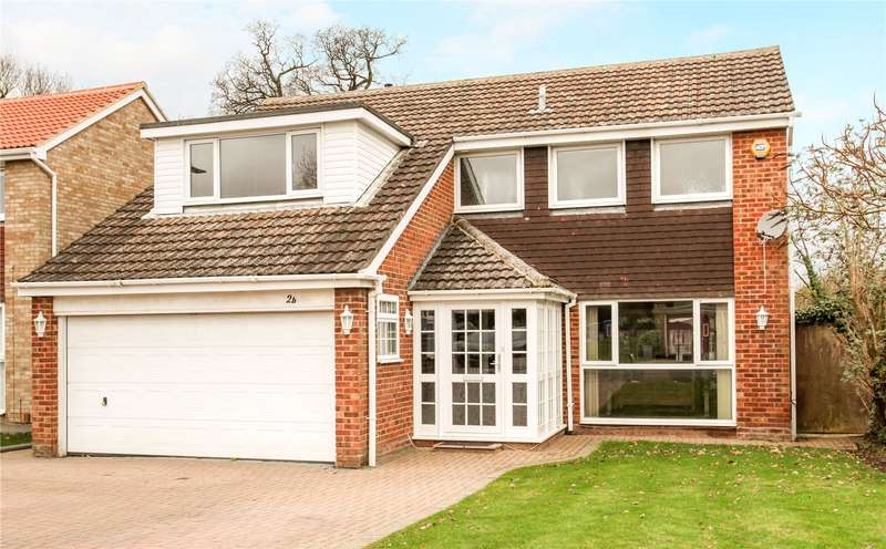 4 Bedrooms Detached House for sale in Ruddlesway, Windsor, Berkshire, SL4