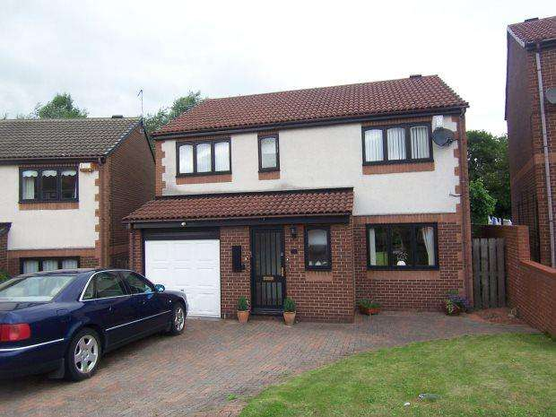 3 Bedrooms Detached House for sale in HOLLOWDENE, HETTON, SEAHAM DISTRICT