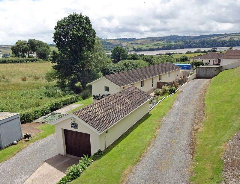 3 Bedrooms Detached Bungalow for sale in Happy Valley, Forder Lane, Bishopsteignton, Teignmouth