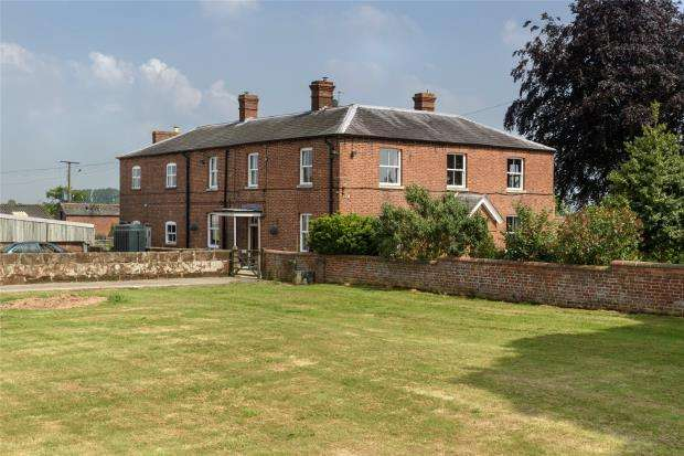 7 Bedrooms Detached House for sale in Wackley Lodge Farm, Burlton, Shrewsbury, Shropshire
