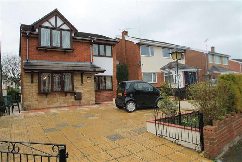 3 Bedrooms Detached House for sale in Bethania Road, Acrefair, Wrexham