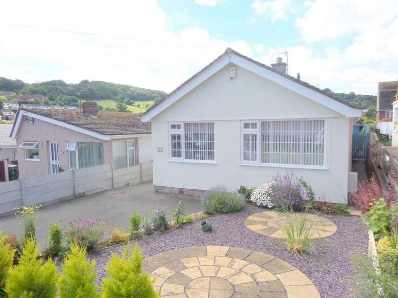 2 Bedrooms Detached Bungalow for sale in Maes Gweryl, Conwy