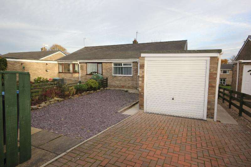2 Bedrooms Semi Detached Bungalow for sale in Edendale Crescent, Howden Le Wear
