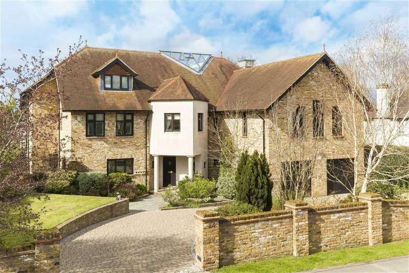 5 Bedrooms Detached House for sale in East Ridgeway, Cuffley, Hertfordshire