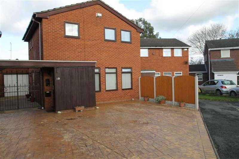 3 Bedrooms Detached House for sale in Clifton Close, Mill Gardens, Wrexham