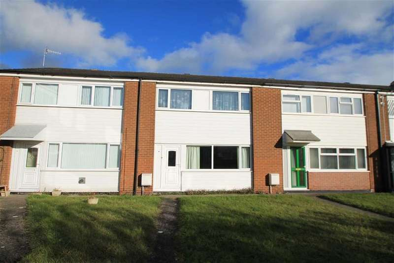 3 Bedrooms Terraced House for sale in Derwent Close, Acton, Wrexham