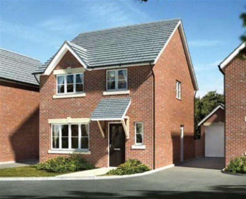4 Bedrooms Detached House for sale in The Tegid, Summerhill, Wrexham