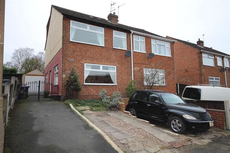4 Bedrooms Semi Detached House for sale in Heathfield Avenue, Ilkeston