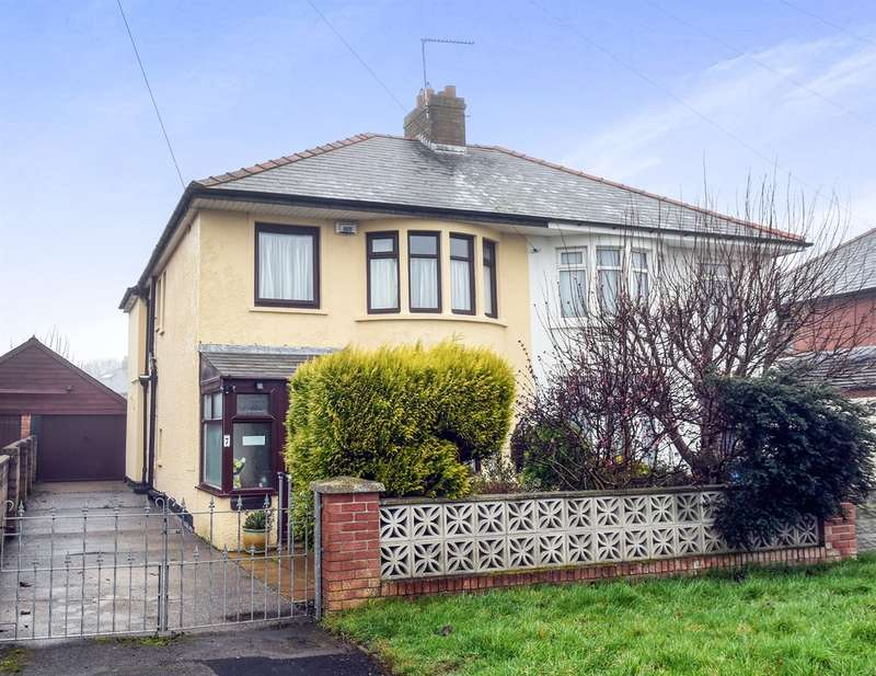 3 Bedrooms Semi Detached House for sale in Highfield Road, Barry