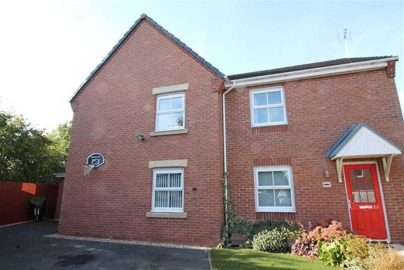 3 Bedrooms Semi Detached House for sale in Trem Y Llyn, Wrexham, Wrexham