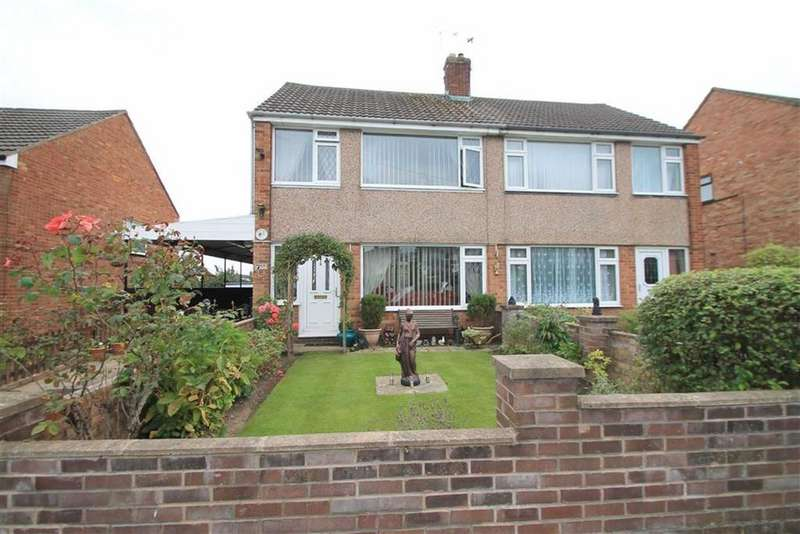3 Bedrooms Semi Detached House for sale in Cedar Drive, Summerhill, Wrexham