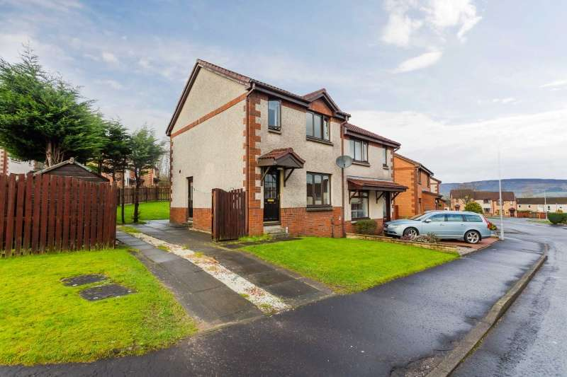 3 Bedrooms Semi Detached House for sale in Parkvale Avenue, Erskine, Renfrewshire, PA8 7LB