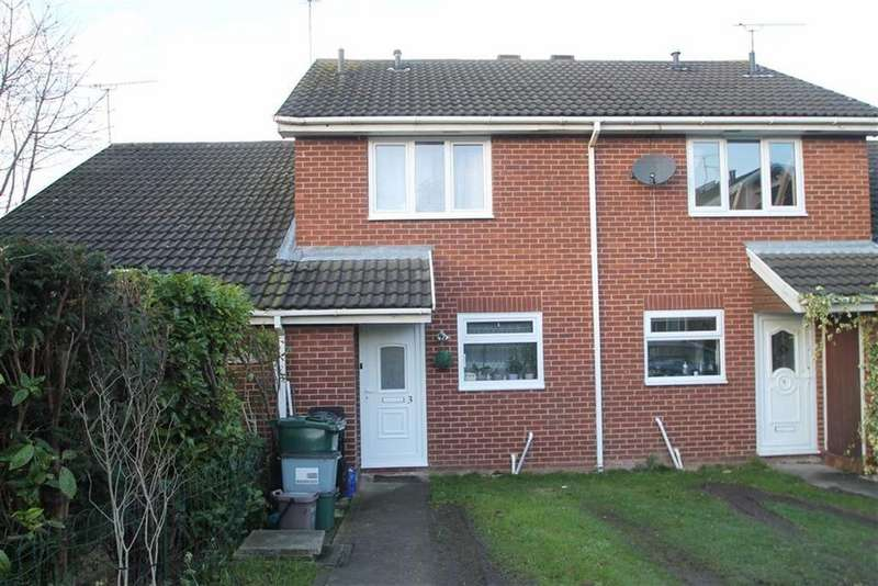 2 Bedrooms Town House for sale in Westbury Way, Saltney