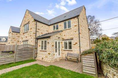2 Bedrooms Semi Detached House for sale in Windrush, Chapel Road, Greatworth, Banbury
