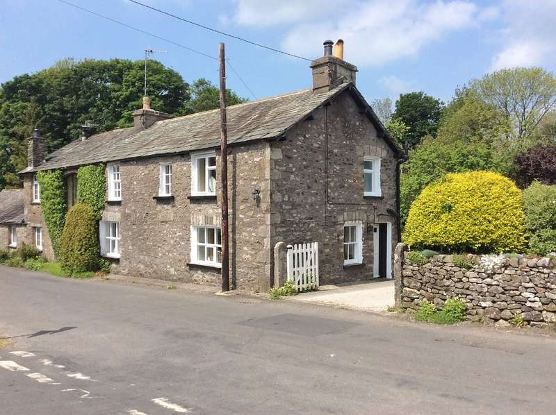 3 Bedrooms Semi Detached House for sale in Holly Cottage, Sedgwick, Kendal, Cumbria LA8 0JP