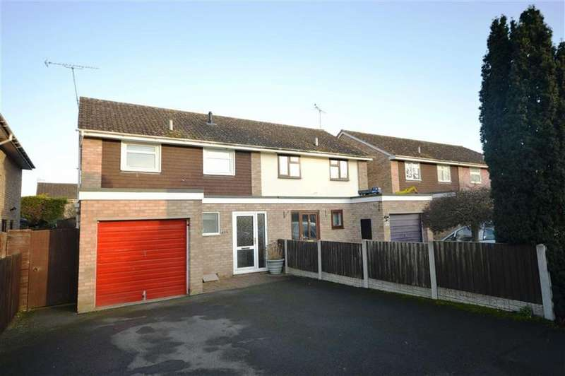 3 Bedrooms Semi Detached House for sale in 456, Buckfield Road, Leominster, HR6