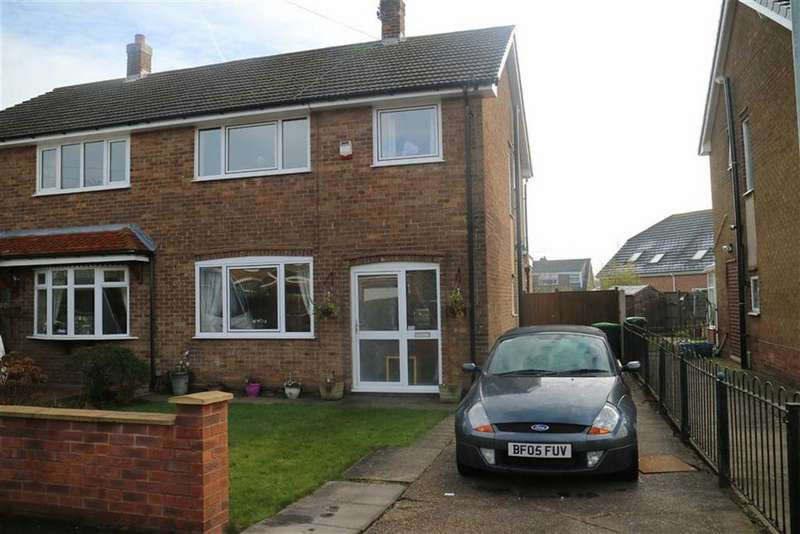 3 Bedrooms Semi Detached House for sale in Sutton Close, Sutton In Ashfield, Notts, NG17