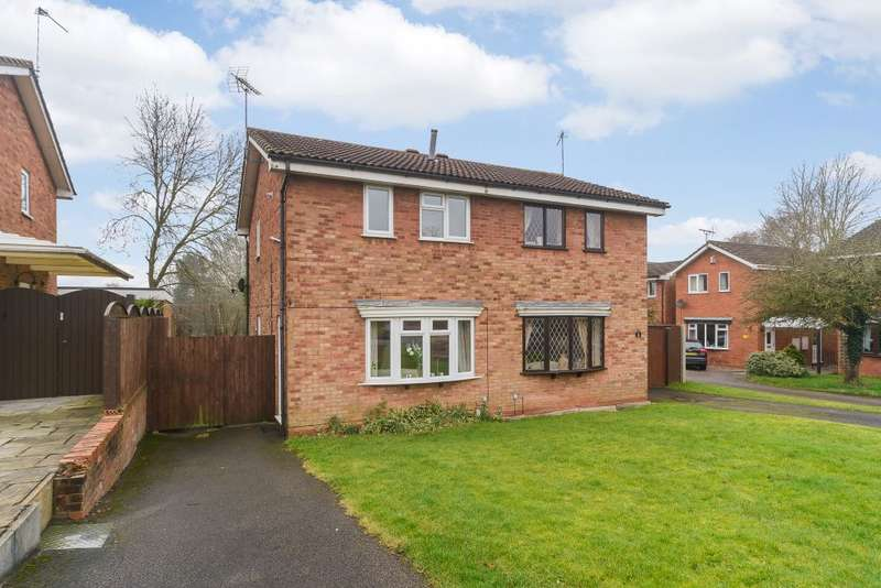2 Bedrooms Semi Detached House for sale in Carisbrooke drive, Stafford, Staffordshire, ST17 9JY