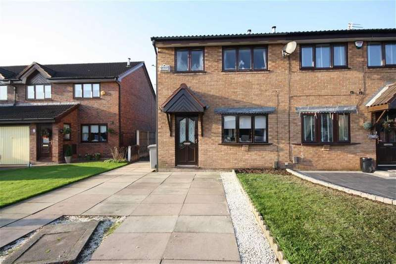 3 Bedrooms Semi Detached House for sale in Pimmcroft Way, Sale